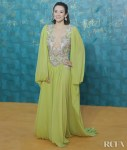 Zhang Ziyi 章子怡 Wore Elie Saab Haute Couture To The Hainan Film Festival Closing Ceremony