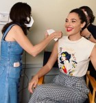 Gal Gadot Wore Miu Miu Promoting 'Wonder Woman 1984'