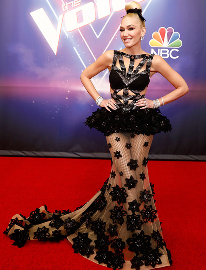 Gwen Stefani Wore Three Look For 'The Voice' Finale