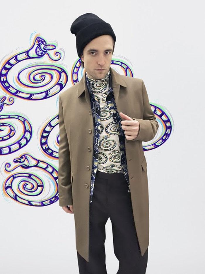 Robert Pattinson Dior Men Fall 2021