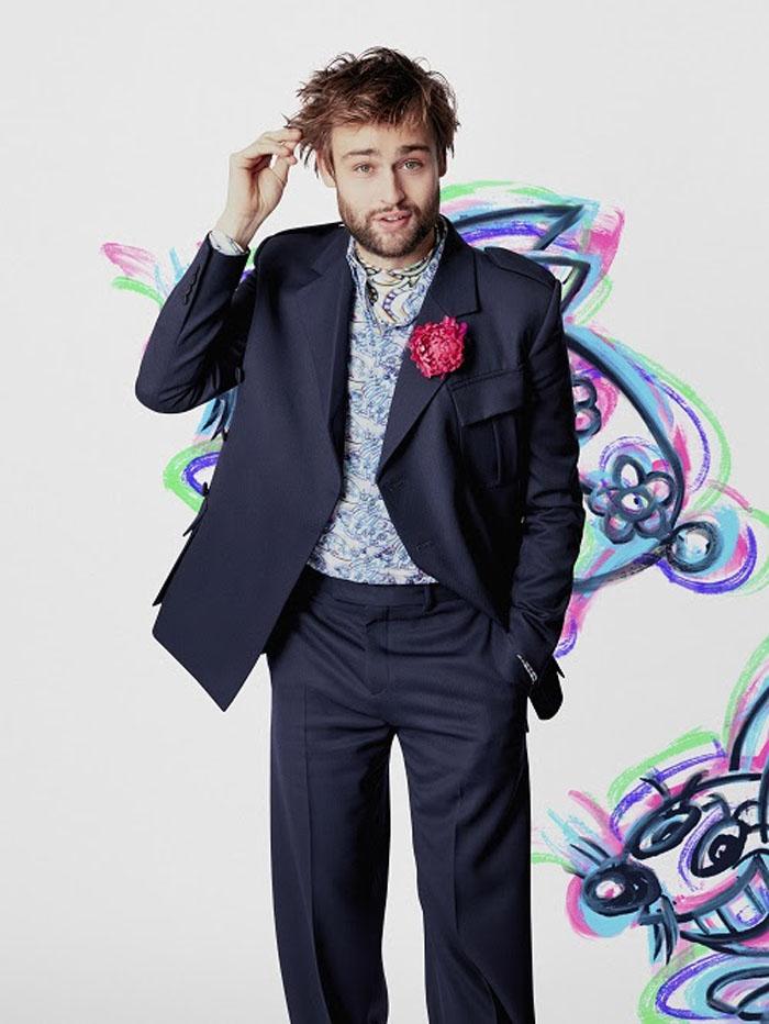 Dior Men Fall 2021 Douglas Booth