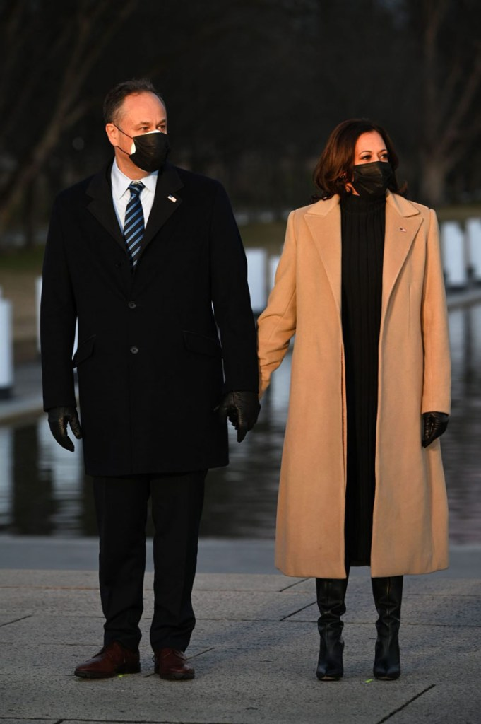 Kamala Harris Wore Pyer Moss For The COVID-19 Memorial Service