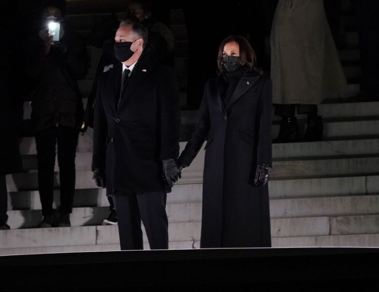 Kamala Harris Wore Sergio Hudson For The U.S. Capitol Inauguration Ceremony