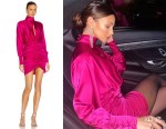 Michelle Keegan's Retrofete Orchid Pink Barbara Dress