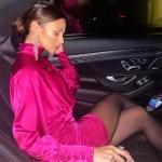 Michelle Keegan Closed 2020 Wearing Retrofête & Zuhair Murad