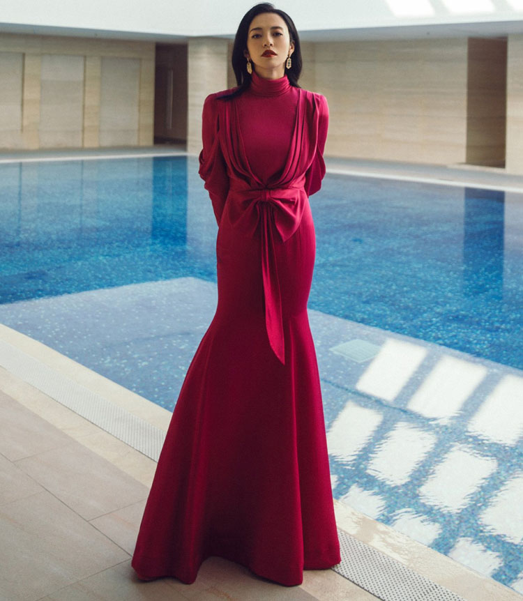 Yao Chen Wore Ronald van der Kemp Haute Couture For The Douyin Star Motion Nighter