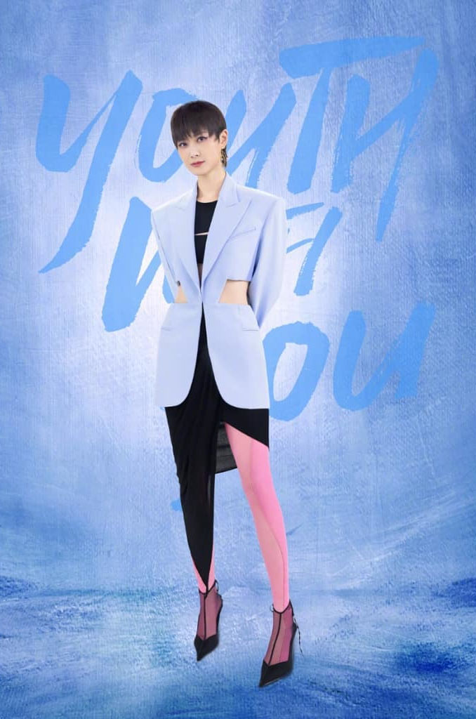 Chris Lee, 李宇春, Mugler, Youth With You, Chris Lee, Mugler, Chris Lee Youth With You, 李宇春 Mugler, Chris Lee李宇春 Youth With You, Mugler Spring 2021, Chris Lee Suit, Women in suits,