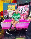 Miley Cyrus Wore Gucci, Michael Schmidt & Alexandre Vauthier Haute Couture On Super Bowl Sunday