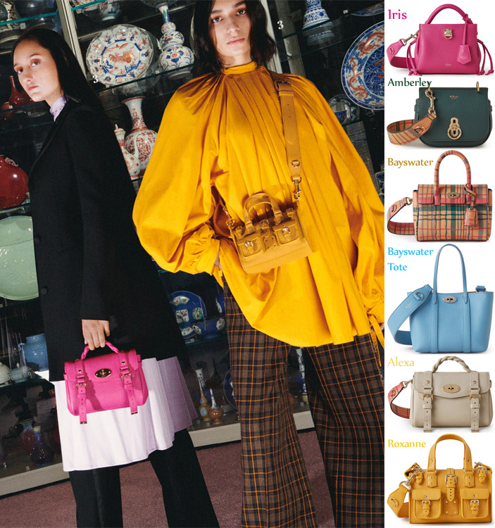 Mulberry Celebrates 50th Anniversary With Icon Editions Collection