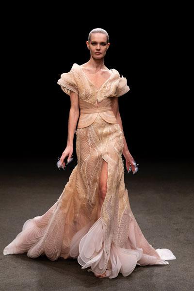 Angelababy Wore Iris van Herpen Haute Couture To The 2021 Madame Figaro Fashion Gala