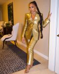 Ashanti Rocks A 24k Alexander McQueen Suit For The 'Gram