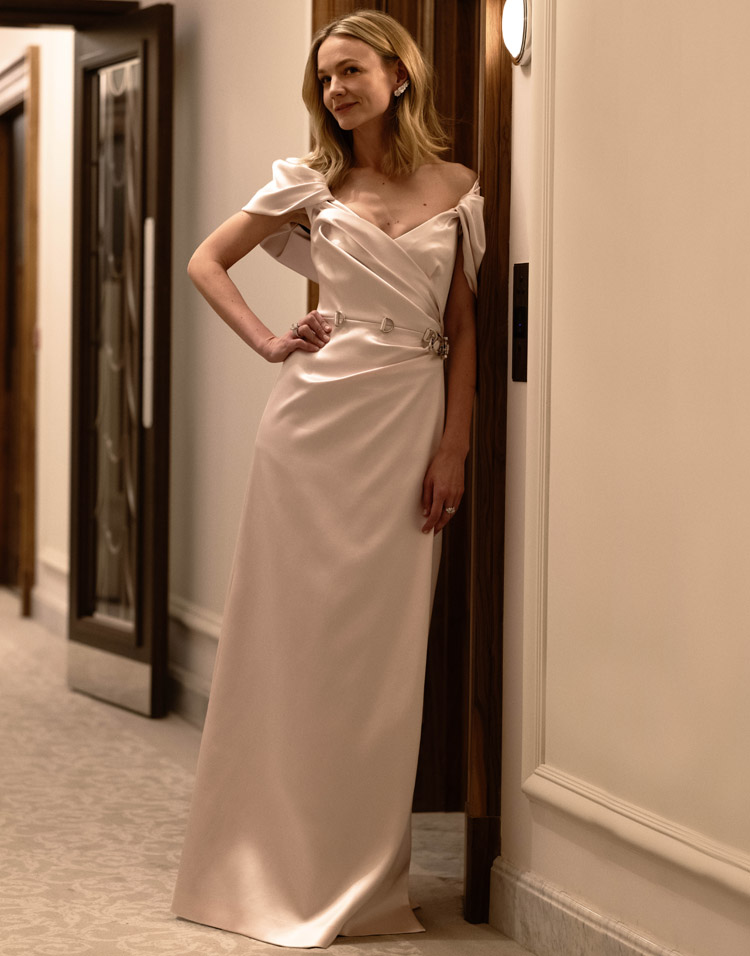 Carey Mulligan Wore Prada To The 2021 Golden Globe Awards
