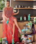 Chrissy Teigen Cleans Up In Pamella Roland