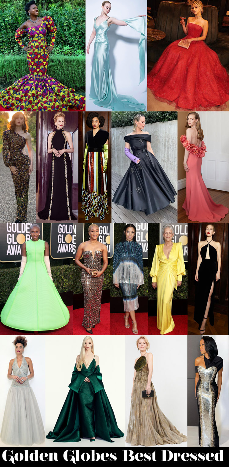 Who Was Your Best Dressed At The 2021 Golden Globe Awards?