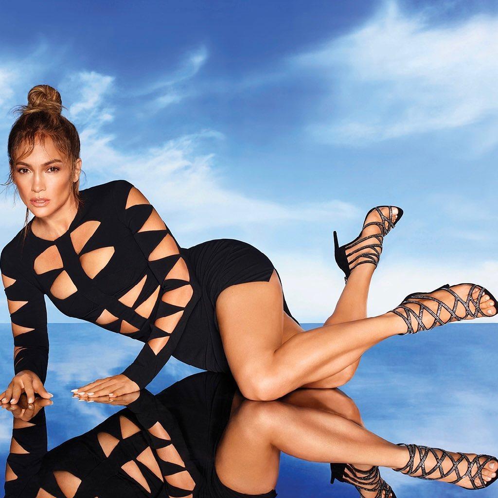 Jennifer Lopez Promotes DSW In David Koma