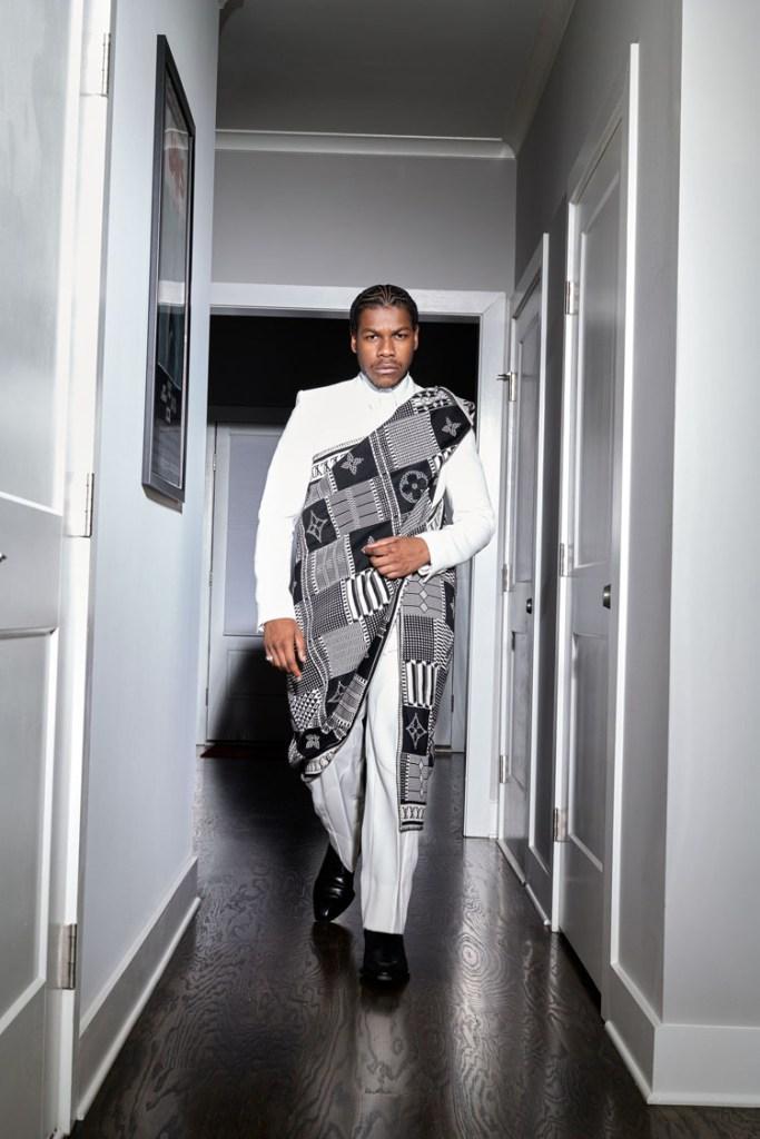 John Boyega Louis Vuitton  2021 Critics' Choice Awards