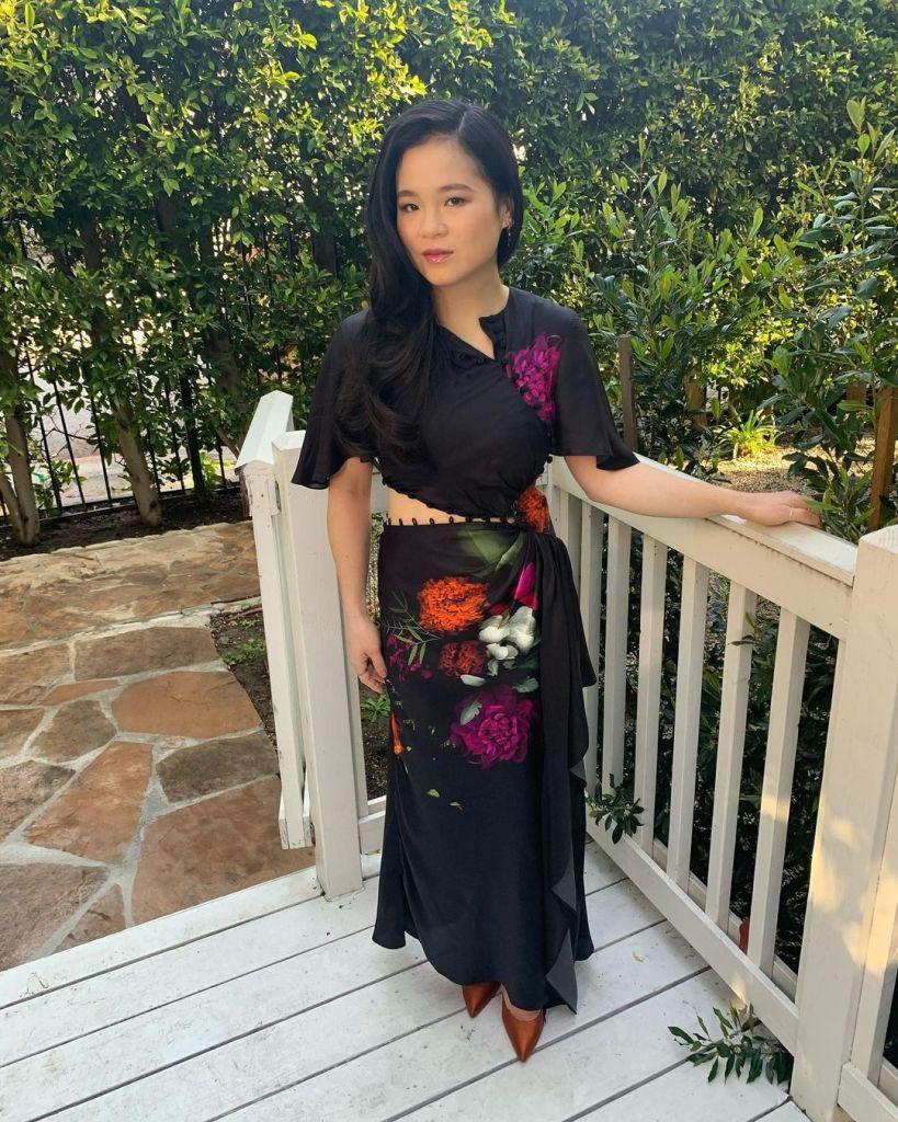 Kelly Marie Tran Wore Prabal Gurung On The Ellen Show