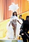 Megan Thee Stallion Wore Dolce & Gabbana & L.A. ROXX For Her 2021 Grammy Awards Performances