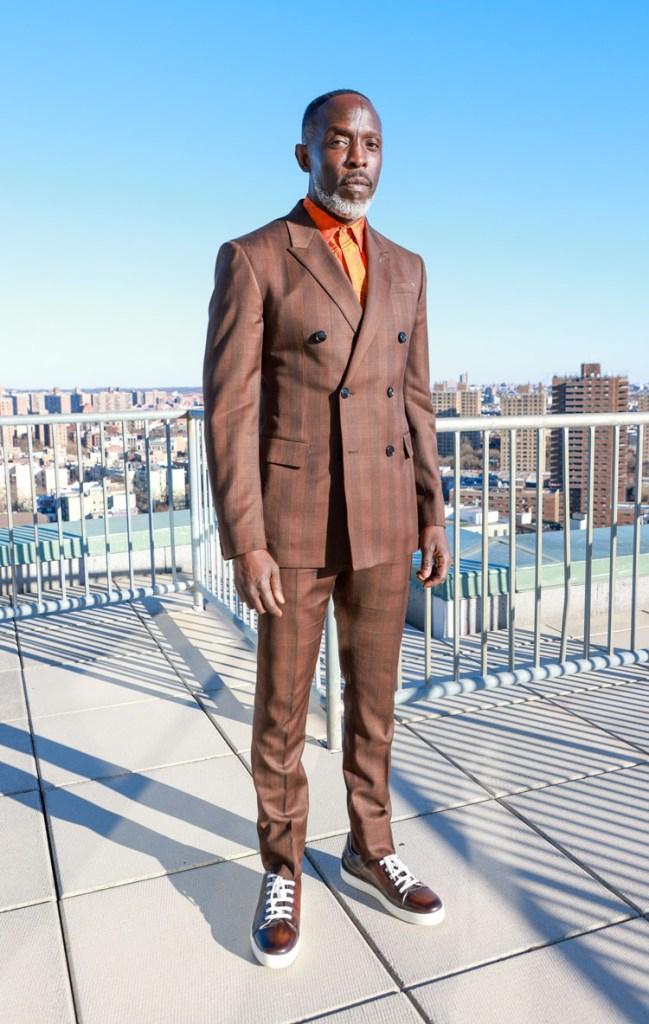 Michael K. Williams  Berluti 2021 Critics' Choice Awards