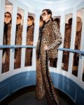 Nieves Alvarez Is Panache Personified In Leopard Print In Elie Saab