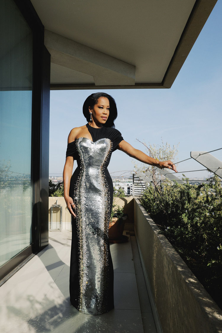 Regina King Wore Louis Vuitton To The 2021 Golden Globe Awards