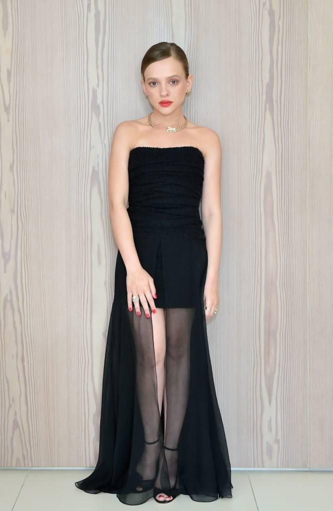 Shira Haas Chanel Golden Globe Awards