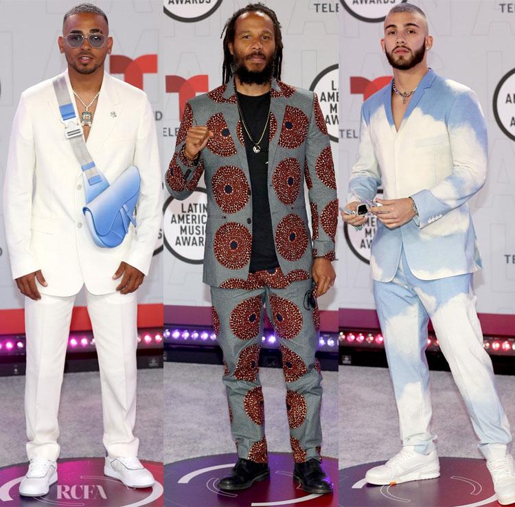 2021 Latin American Music Awards Menswear Roundup