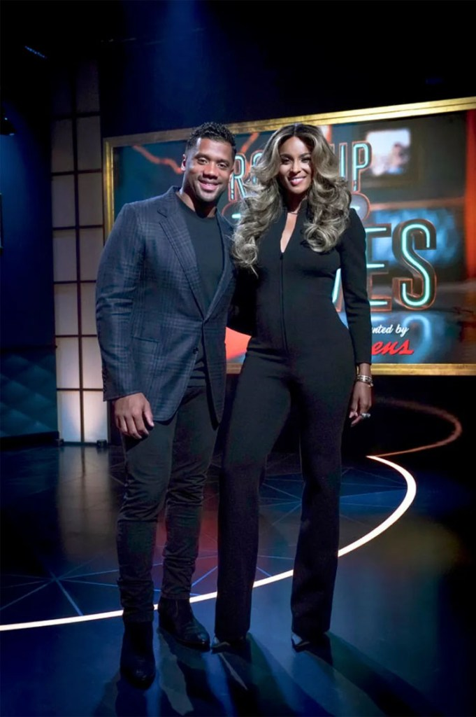Ciara Wore Saint Laurent Hosting 'Roll Up Your Sleeves'