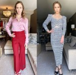 Emily Blunt Wore Gucci & Self-Portrait Promoting 'A Quiet Place Part II'