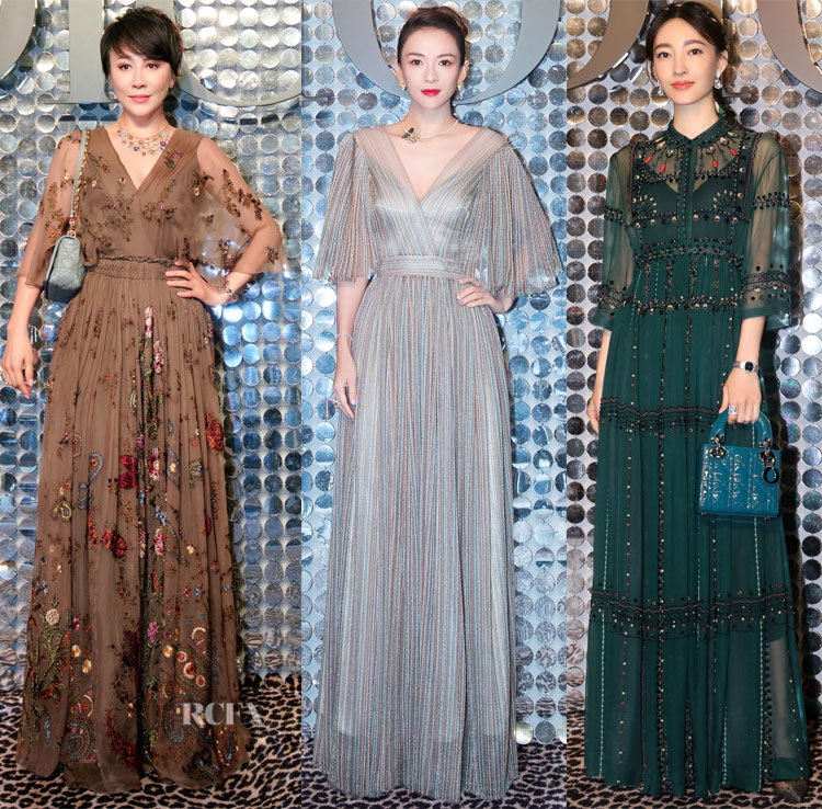 Front Row @ Christian Dior's Fall 2021 Shanghai Show