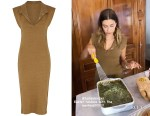 Hailey Bieber's Jacquemus La Robe Santon Knit Dress