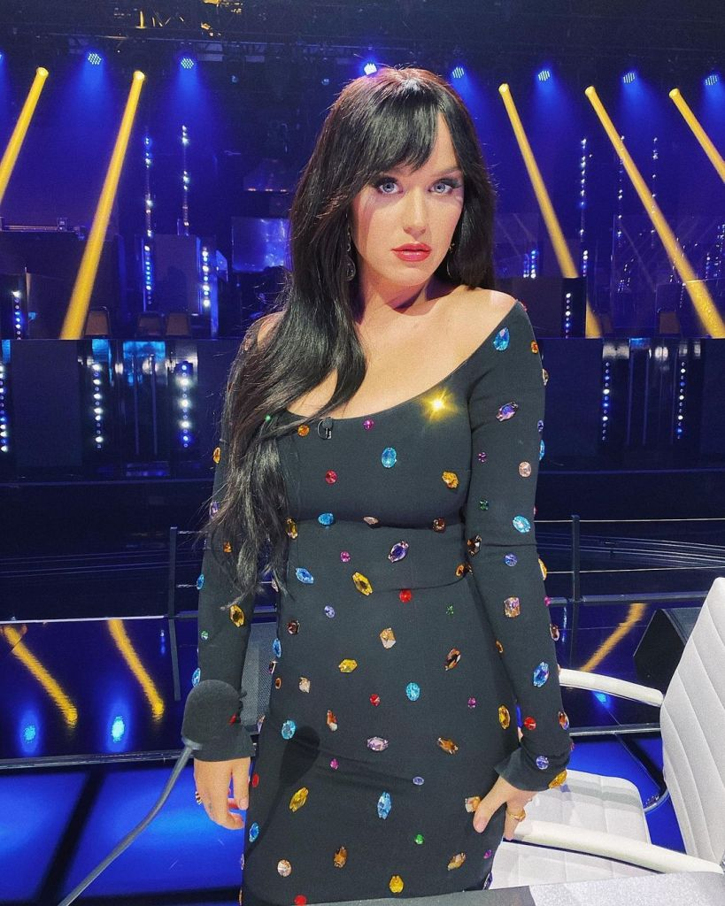 Katy Perry Wore Dolce & Gabbana On American Idol