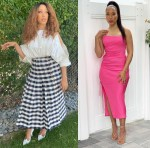 Robin Thede Promotes 'A Black Lady Sketch Show' In Mario Dice & Prabal Gurung