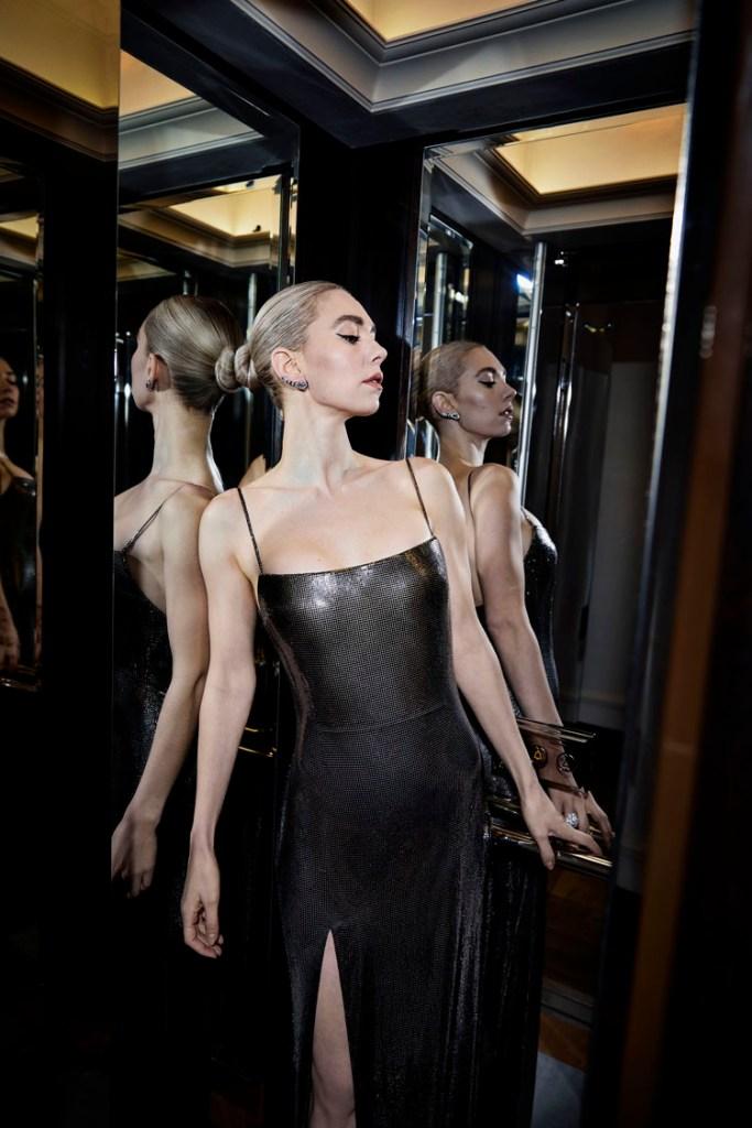 Vanessa Kirby Wore Atelier Versace To The 2021 BAFTAs