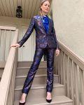 Yvonne Strahovski Wore Azzaro Promoting  'The Handmaid's Tale' During Palyfest