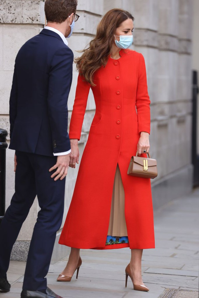 Catherine, Duchess Of Cambridge Wore  Eponine For Her National Portrait Gallery Visit