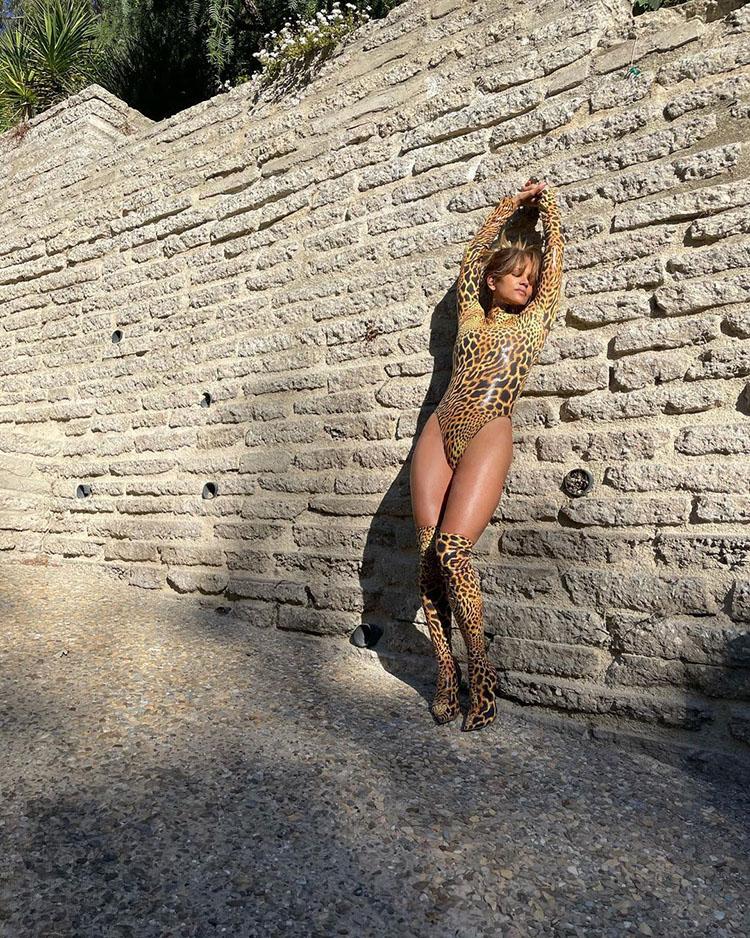 Halle Berry Wore Leopard Print Abodi Spring 2019 On Instagram