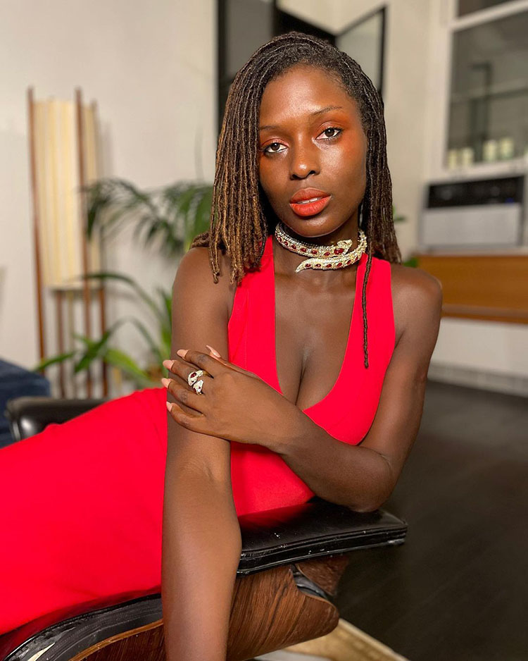 Jodie Turner Smith Wore Alaïa To The 'Without Remorse' Virtual Premiere