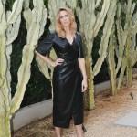 Mandy Moore Gives Her Summer Blonde Locks Their Instagram Debut Wearing Nanushka