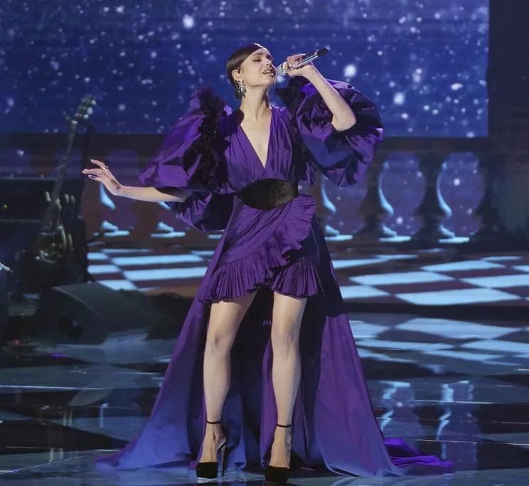 Sofia Carson Wore Elie Saab On American Idol