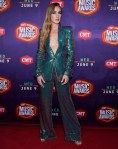 Ingrid Andress Wore Georges Chakra Couture & Azzi & Osta Couture For The 2021 CMT Music Awards
