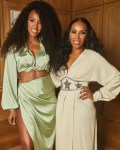 Kelly Rowland Wore House of CB To June Ambrose's 50th Birthday Party