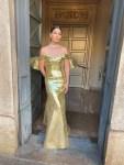 Lily Aldridge Wore Moschino To The  Bvlgari x La Scala Gala
