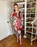 Molly Quinn Wore Dolce & Gabbana Promoting 'Agnes'