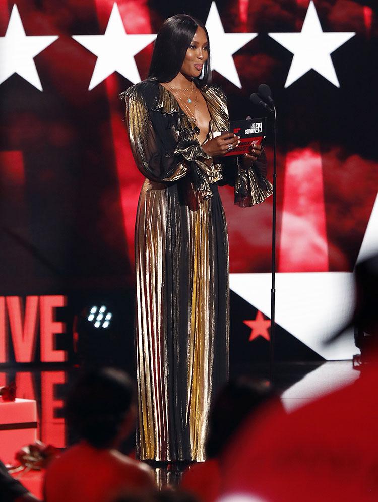 Naomi Campbell  BET Awards
