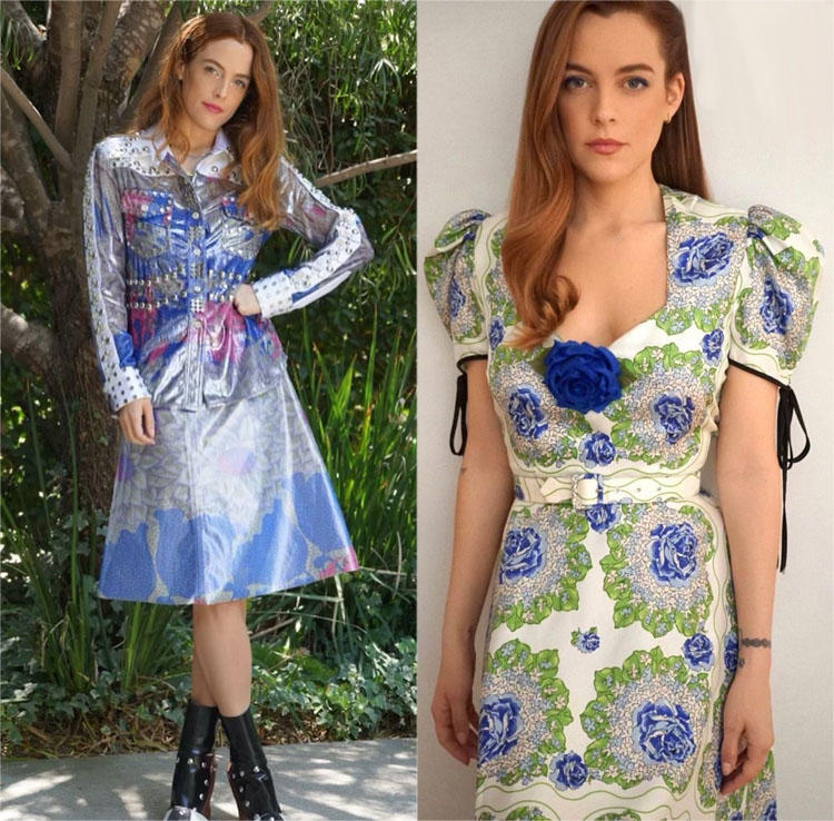 Riley Keough Wore Louis Vuitton & Rodarte Promoting 'Zola'