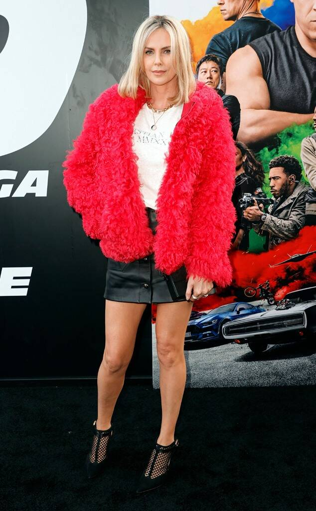 Charlize Theron Wore Christian Dior To The 'Fast & Furious: F9' World Premiere