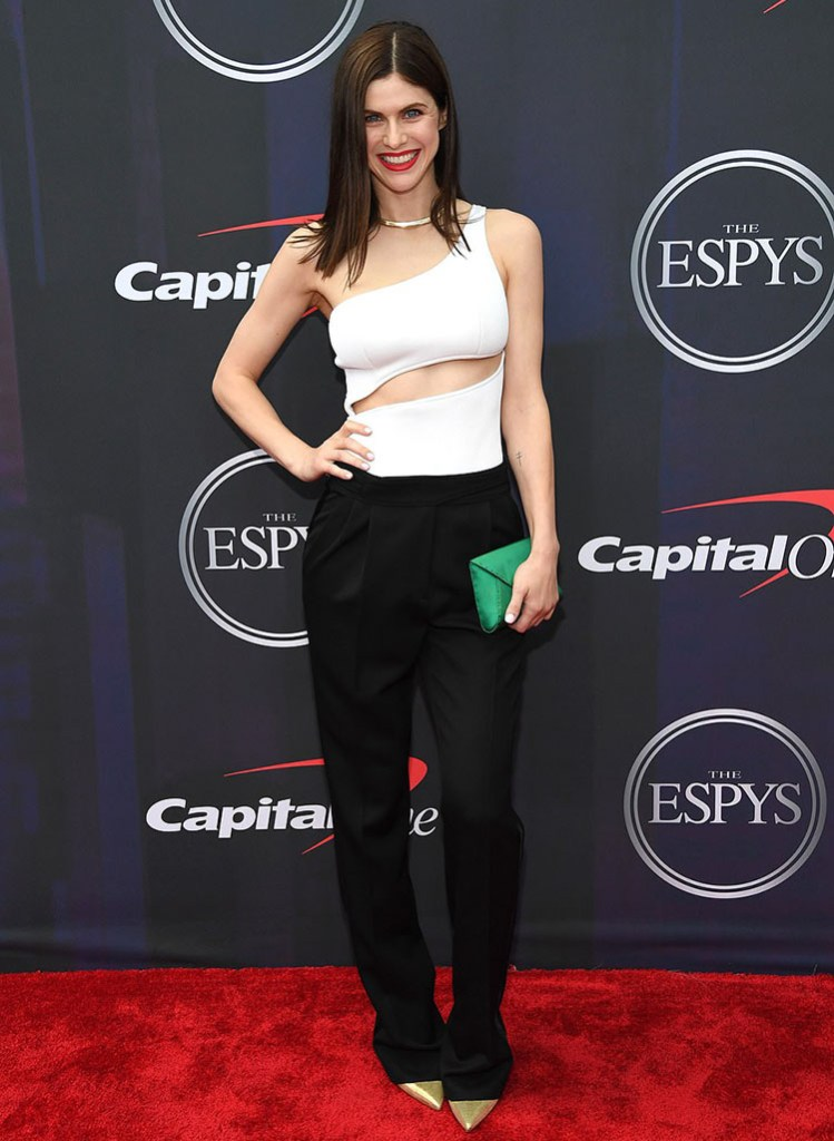 Alexandra Daddario  in Brandon Maxwell - 2021 ESPY Awards