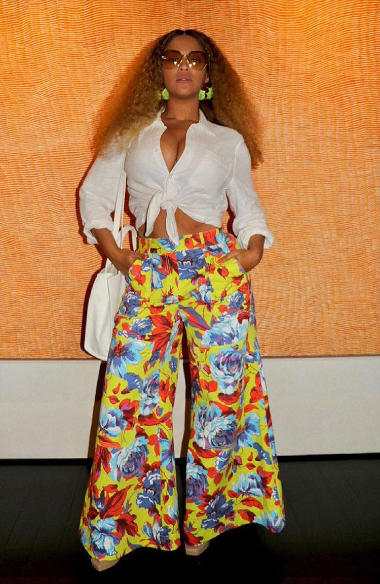 Beyonce Wore Christopher John Rogers & Mara Hoffman For The 'Gram