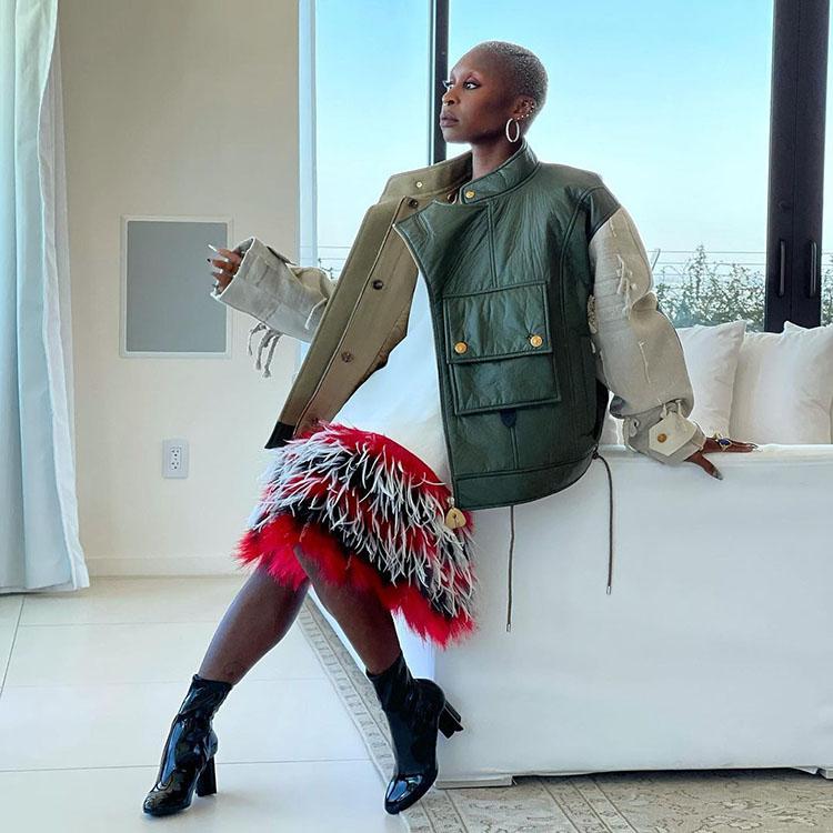 Cynthia Erivo Wore Louis Vuitton To The Cut Private Dinner